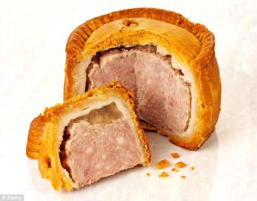 Medium Hand Raised Pork Pie