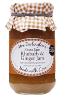 Mrs Darlington's Extra Jam Rhubarb and Ginger