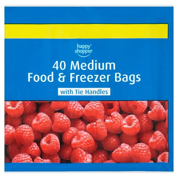 Happy Shopper Medium Food and Freezer bags