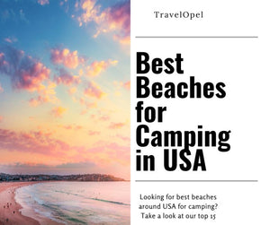 The Best Beaches For Camping in USA