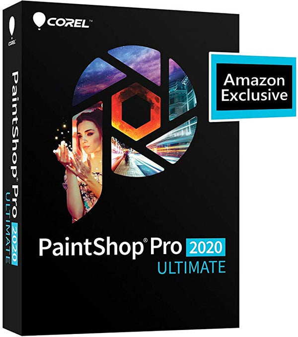 Corel PaintShop Pro 2020 Ultimate Photo Editing & Graphic Design