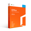 Microsoft Office Home and Business 2016 | 1 user, PC or Mac Key Card