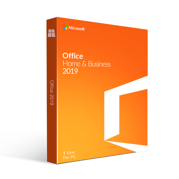 Microsoft Office Home and Business 2019| 1 user, PC Key Card