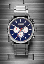 Load image into Gallery viewer, Blue Metal Chrono - 45mm