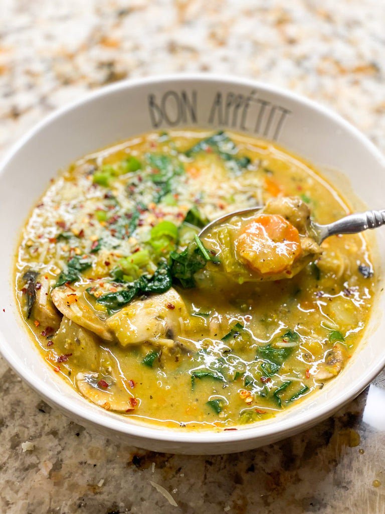 Roasted Poblano Soup
