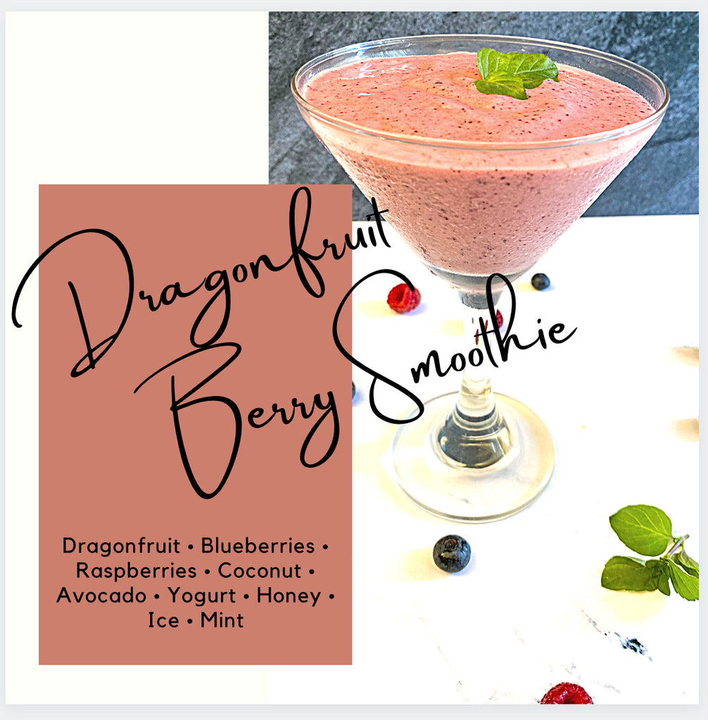 Dragonfruit Berry Smoothie
