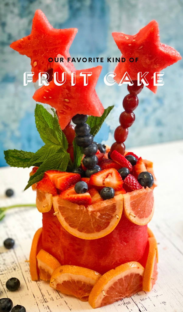 Our Favorite Kind of FRUIT CAKE!