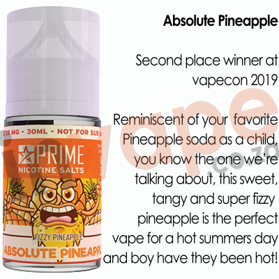 PRIME - Absolute Pineapple 25mg (30ml)