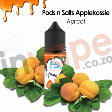 Pods nSalts - Appelkossie 25mg (30ml/60ml)