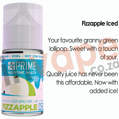 PRIME - Fizzapple Iced 25mg (30ml)