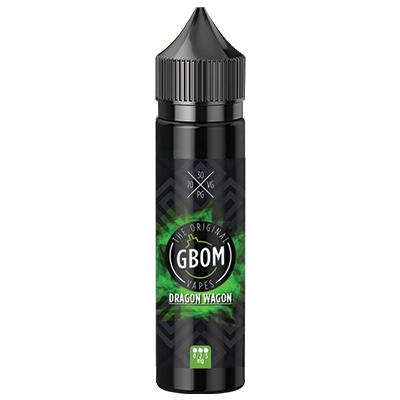 GBOM - Dragon Wagon 0mg - 5mg (60ml)