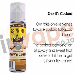 PRIME - Sheriff's Custard 0mg - 18mg (60ml)