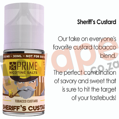 PRIME - Sheriff's Custard 25mg (30ml)