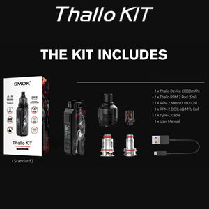 Thallo Pod Kit (Built in Battery)
