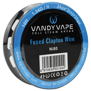 Vandy Vape Ni80 Fused Clapton Wire