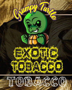Grumpy Turtle - Tobacco - Exotic Tobacco 0mg - 18mg (60ml/100ml)