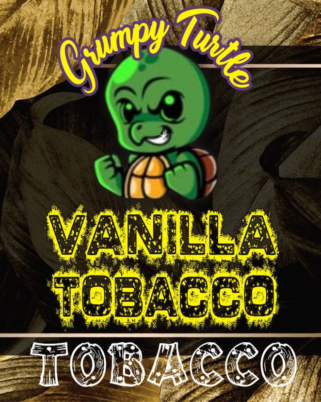 Grumpy Turtle - Tobacco - Vanilla Tobacco 0mg - 18mg (60ml/100ml)