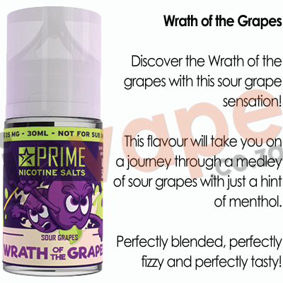 PRIME - Wrath of Grapes 25mg (30ml)