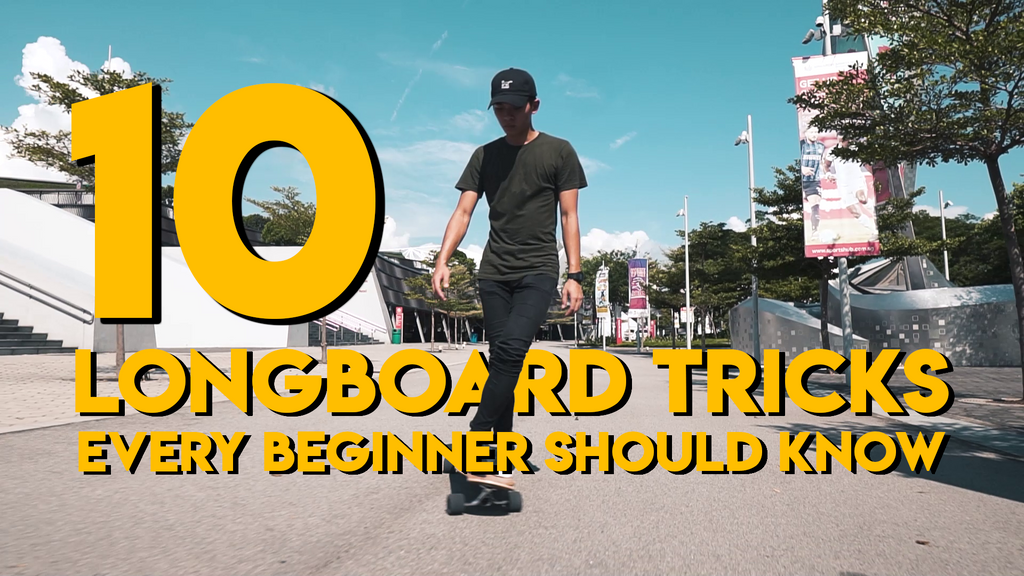 10 longboard tricks every beginner should know