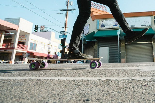 longboard city cruising