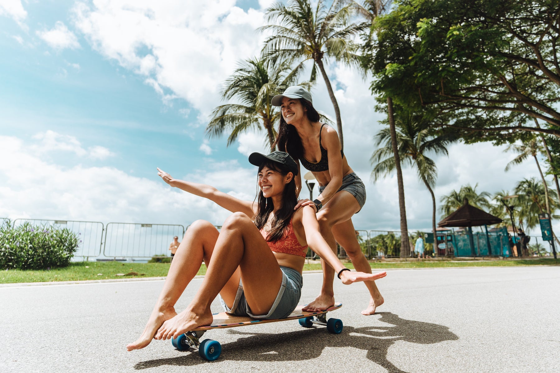 longboard beach girls
