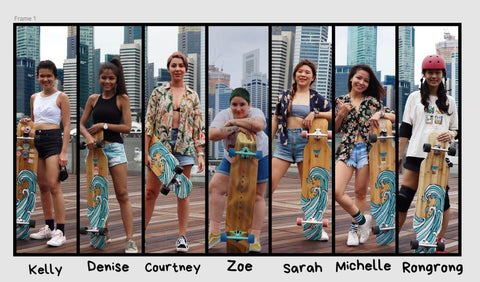 longboard group in Singapore