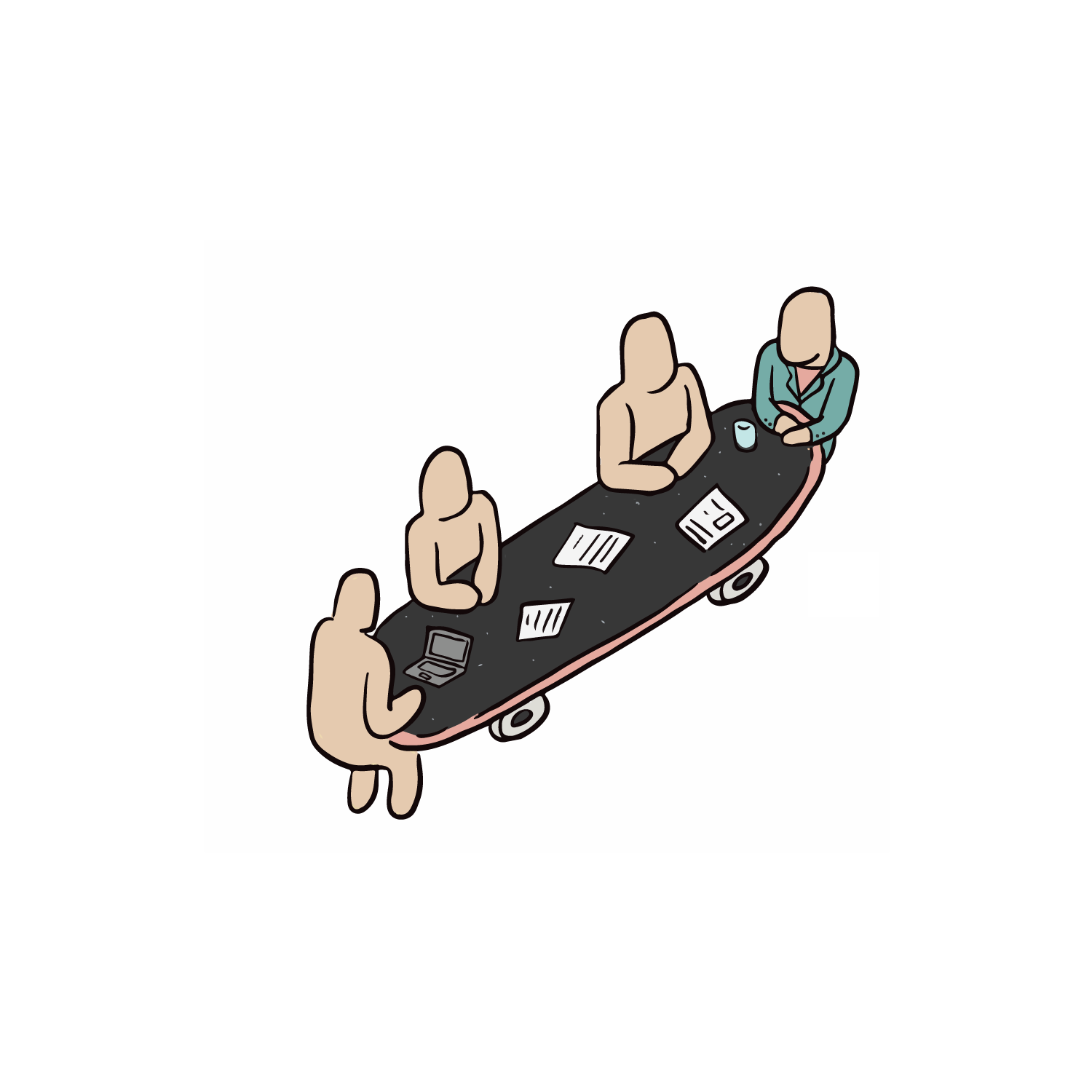All Hands On Deck Sticker Pack