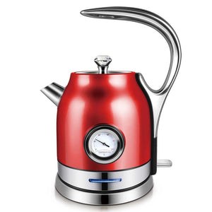 1.8L 304 Stainless Electric Kettle With Water Temperature Control Meter - Common Panda