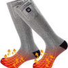 Common Panda Heated Electric Socks, Rechargeable Battery Heated Socks, 2200mAh Battery For Men and Women