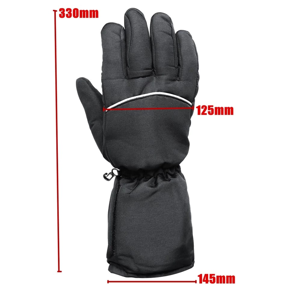 Waterproof Battery Powered Heated Gloves - One Size Fits Most - Common Panda