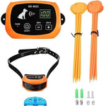 Wireless Rechargeable 1/2/3 collar Electric Fence System Pet Training System - Common Panda