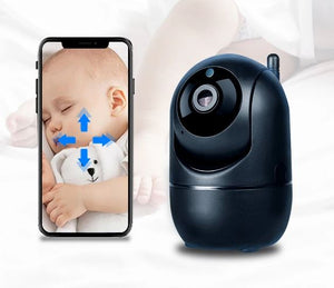Smart Baby Monitor WiFi IP Camera WiFi Video Nanny Cam Baby Camera Night Vision Wireless video Surveillance CCTV Camera - Common Panda