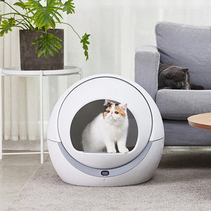Automatic self-cleaning cat litter box - Common Panda