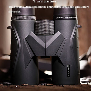 8x42 10X42 USCAMEL Optical Military HD Outdoor Binoculars Binocular Bird Mirror Low Light Level Night Vision Telescope - Common Panda
