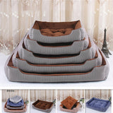 Dog Bed Mat House Winter Warm Pad Pet Supplies Kennel Soft Dog Puppy Warm Bed Plush Cozy Nest For Small Medium Large Dog - Common Panda