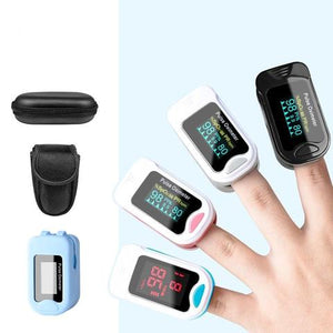 Portable Fingertip Pulse Oximeter Blood Oxygen Saturation SPO2 Heart Rate Monitor LED/ OLED - Common Panda