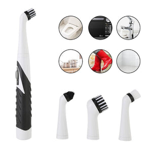 Household Cleaner Brush 4 in1 Electric Sonic Scrubber - Common Panda