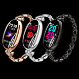 E68 Smart watch Bracelet - Blood Pressure Monitor Android iOS 8.0 and above - Common Panda