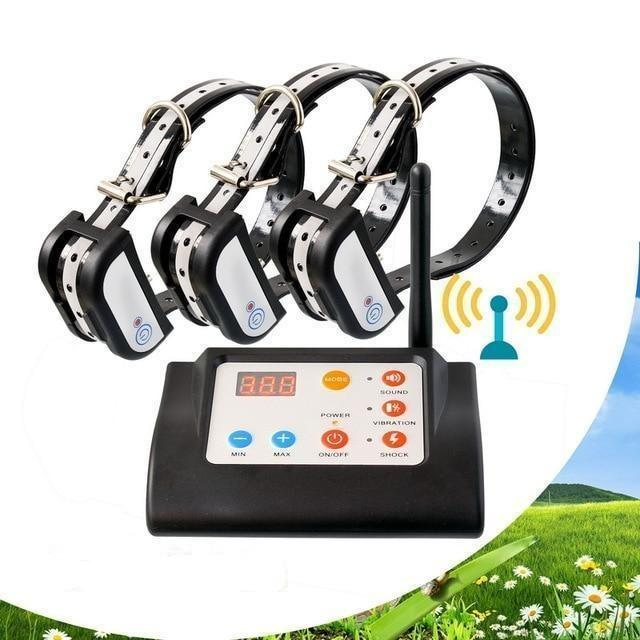 Wireless Dog Fence With Multiple Collar - Common Panda