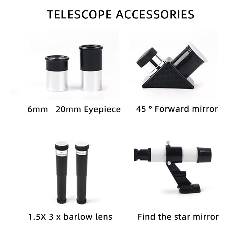 Telescope For Kids, Beginners & Adults With Stand - Common Panda