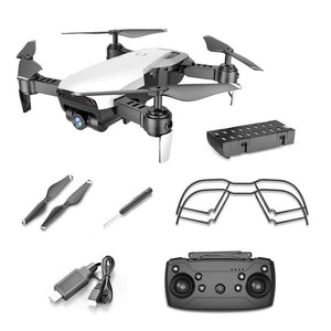 Global Drone FPV Selfie Dron Foldable Drone with Camera HD Wide Angle Live Video - Common Panda