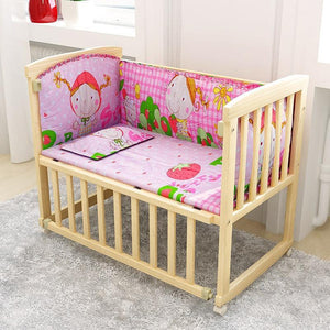 2 in 1 baby sleep crib baby bed cradle - Common Panda