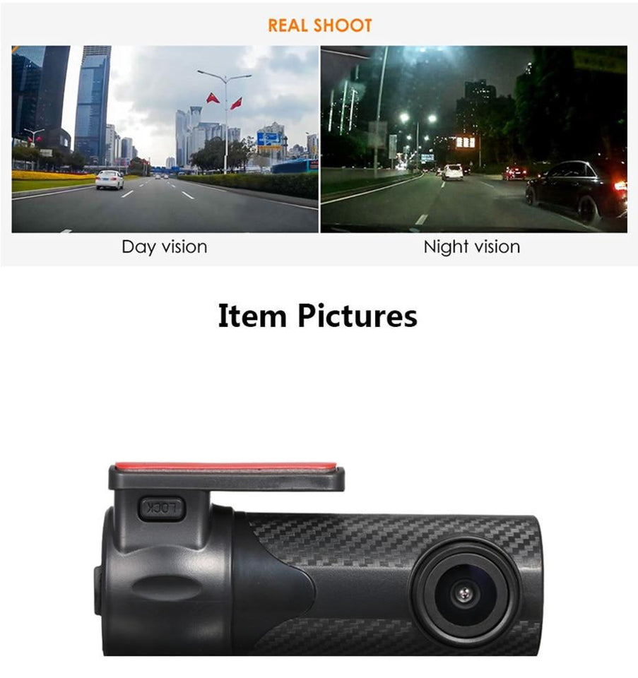 Mini Car DVR Camera - Common Panda