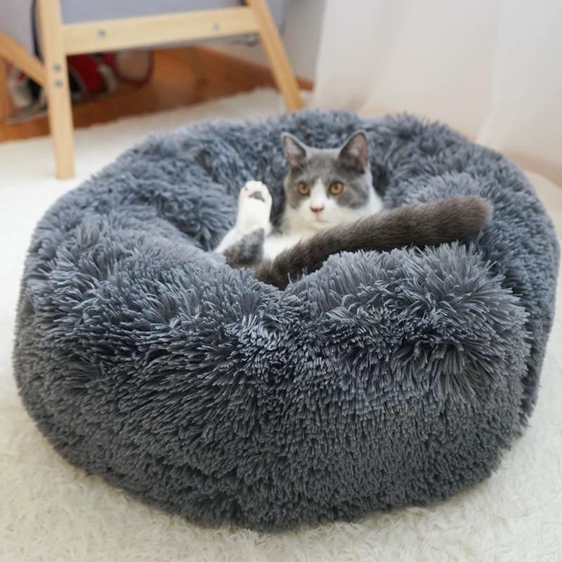 Calming Pet Bed For Dogs, Cats With Pet Anti-Anxiety - Common Panda