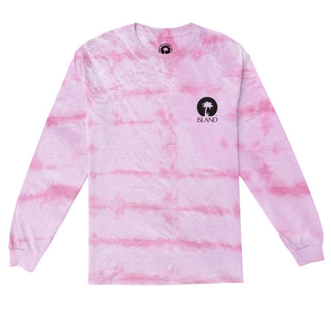 PINK TIE-DYE LONG SLEEVE