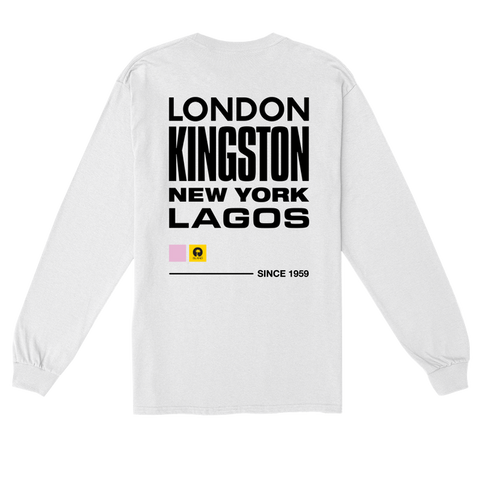 WHITE ISLAND LONG SLEEVE