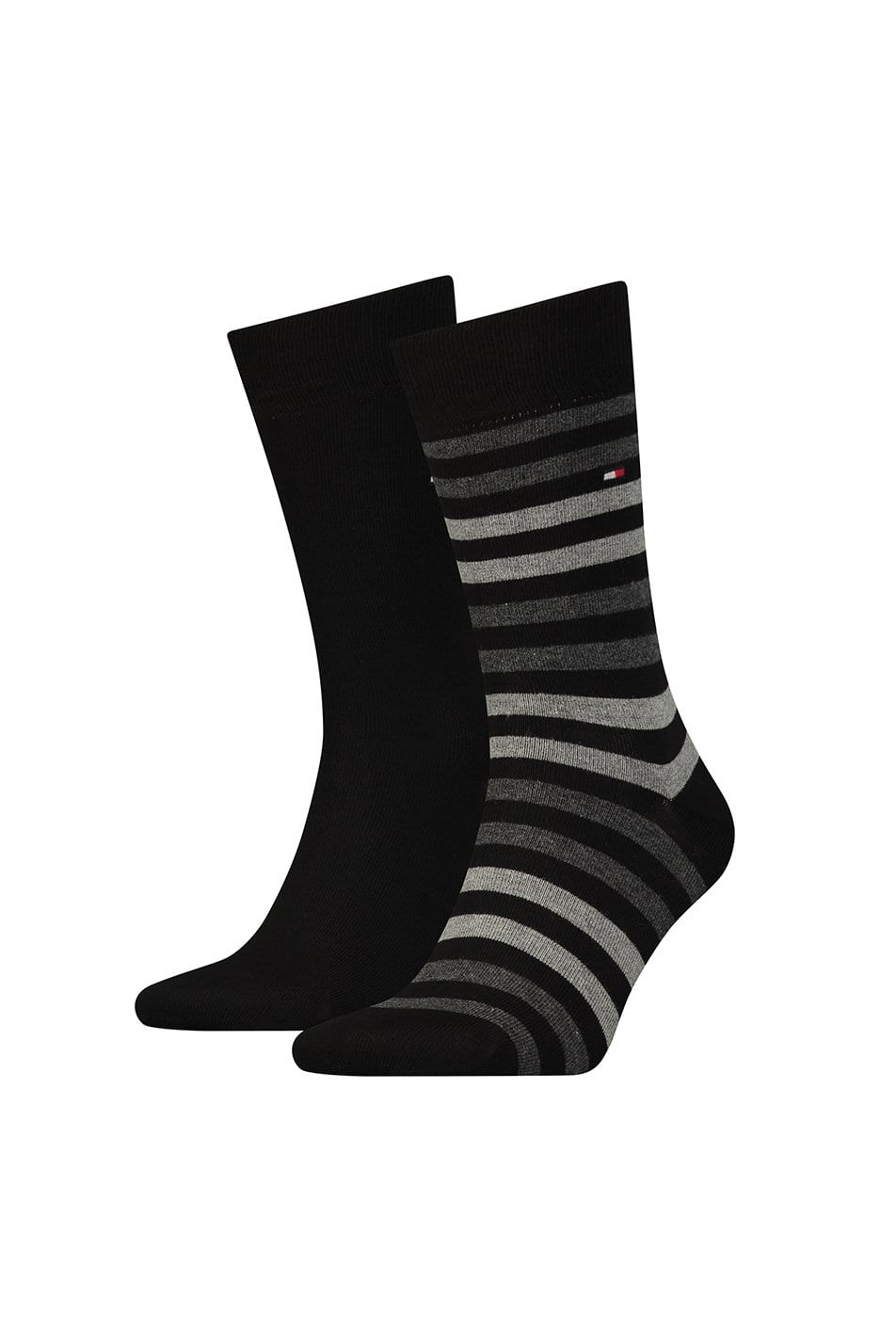 Tommy Hilfiger 2 Pack Duo Stripe Socks