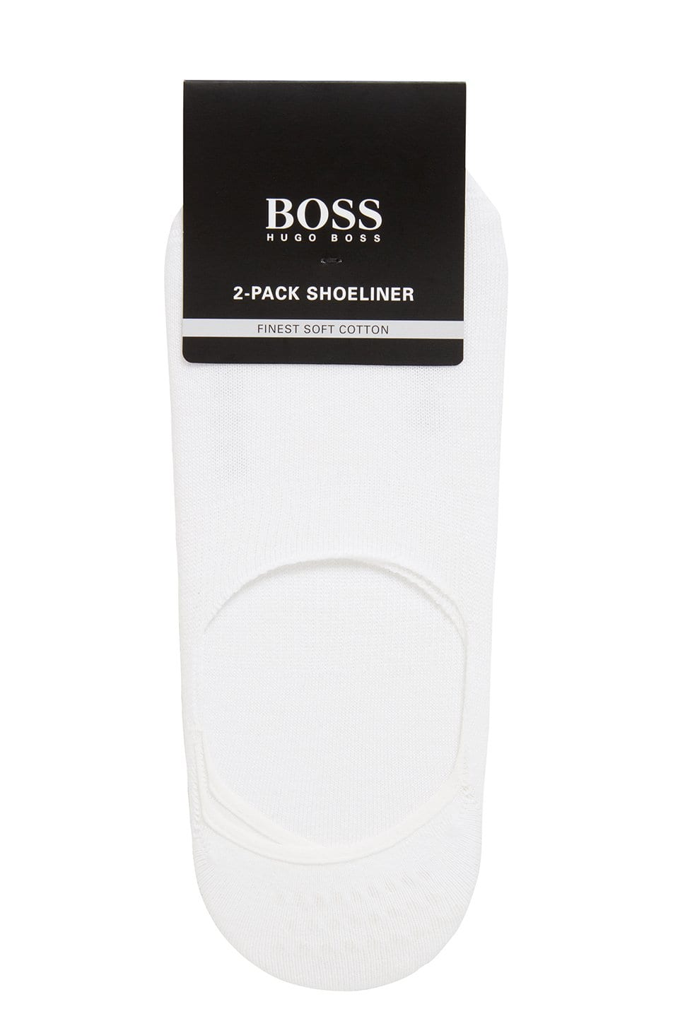 BOSS 2 Pack Invisible Socks