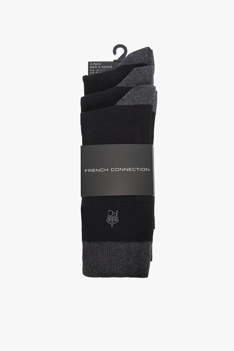French Connection Heel & Toe Socks