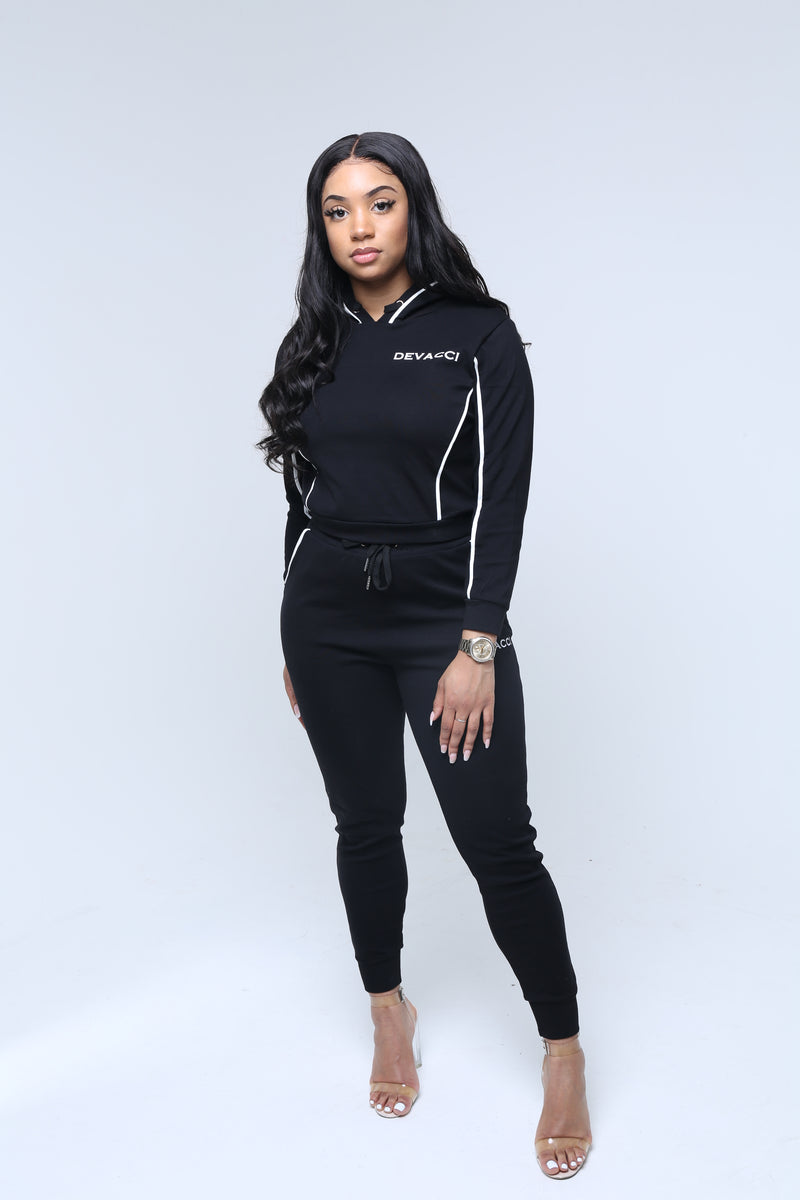 Women's Stain Repellent Tracksuit (Full Set)